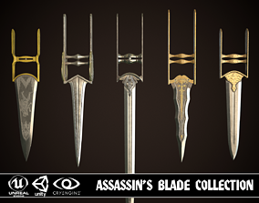 Assassin Blade Collection 3D
