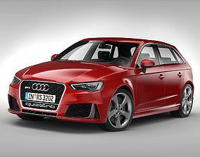 Audi RS3 Sportback 2016 3D