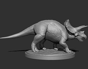 3D Triceratops for Printing figurines