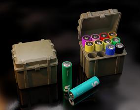 Battery Box Case 3D model