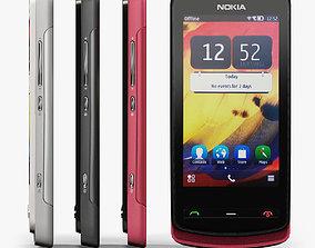 Nokia 700 3D asset low-poly