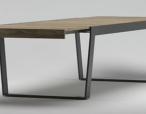 Roda Spinnaker Dining Table 3D