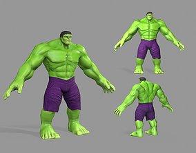 3D model Hulk Green