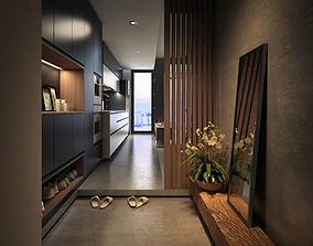 3D foyer Anter room