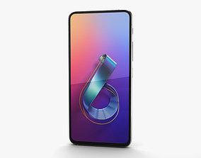 3D Asus Zenfone 6 2019 Twilight Silver