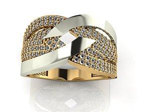 3D printable model ring stone 143