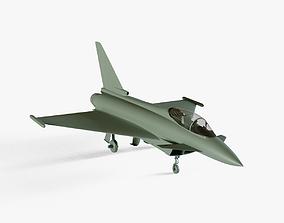 Eurofighter Typhoon 3D asset