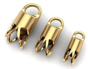 bracelettesselcaps TASSEL CAPS 3D printable model