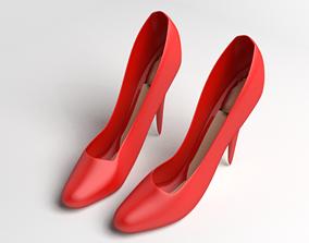 High Heels Shoe 1 3D model