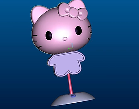 hello kitty Table lamp 3D print model