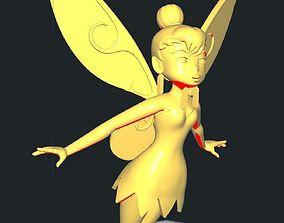 3D printable model Tinkerbell Flying