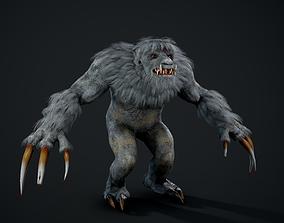 Behemoth 3D model animated