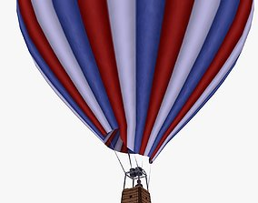 3D model Hot Air Sports Balloon