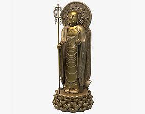 3D Models Ksitigarbha Bodhisattva Buddha