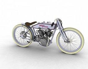 Harley-Davidson 11K Boardtrack 1915 3D