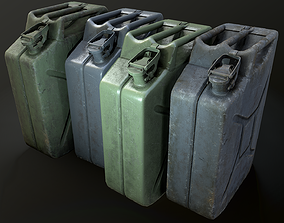3D asset game-ready Jerry Can