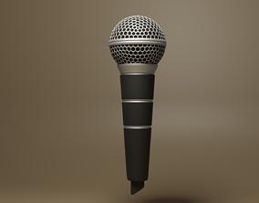 announcement 3D asset realtime Microphone