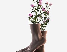 3D printable model Foot Vase