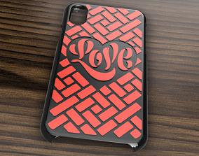 CARCASA IPHONE X-XS LOVE 3D