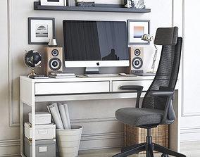 Office workplace 37 3D model