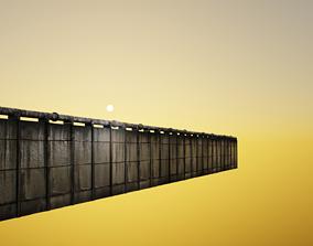 Seamles Grunge Wall 3D asset