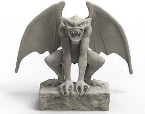 statue Gargoyle 3D print model