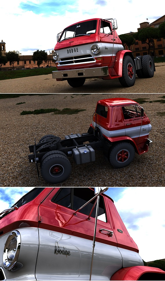 DODGE L700 TILT CAB TRUCK 1969
