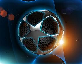 Glowing Ball 3D asset