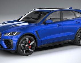 Jaguar F-Pace SVR 2021 3D