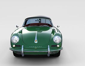 Porsche 356 Cabriolet rev 3D model
