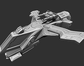 Spaceship-Gladiator 3D printable model