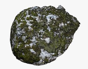 Mossy Rock 3D asset