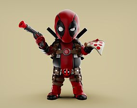 3D print model Chubby Deadpool