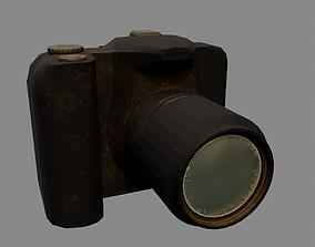 Photo camera 3D model VR / AR ready