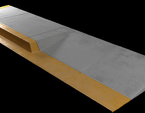 Sidewalk set PBR 3D model