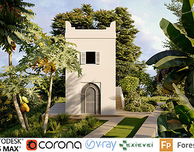 Singapore plants - Include GrowFX and Mesh file 3D model