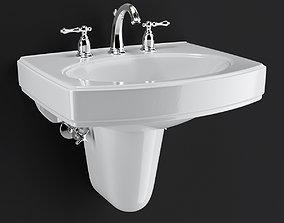3D Pinoir Wall Mount Bathroom Sink by KOHLER