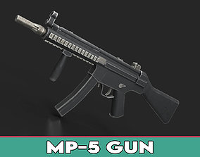 3D model realtime MP5 Gun