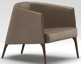 Frigerio Lounge Chair 3D