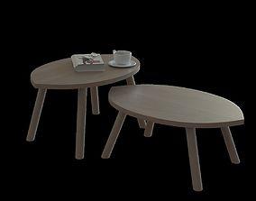 IKEA stockholm nesting table 3D model