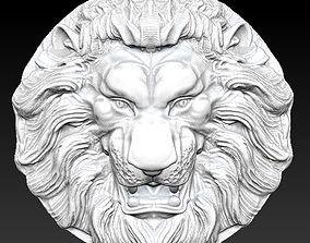 lion gerb 3D print model