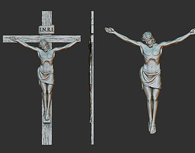 Crucifix Relief 3D printable model