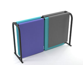 Yoga Mat Rack 3D