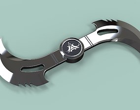 Glaive from movie Blade 3D model