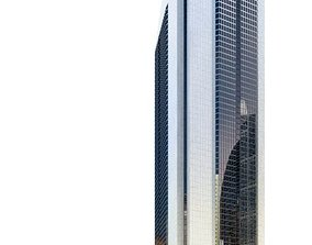 Modern Glass Skyscraper 3D model