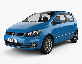 3D model Volkswagen Fox Highline 2014