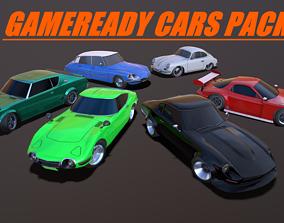 GAMEREADY CARS PACK 3D model
