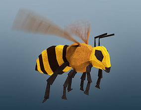 3D model Rigged Honeybee