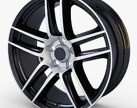 3D Boss 302 19 Laguna Seca wheel black