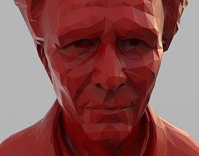 3D print model Dracula Polygonal